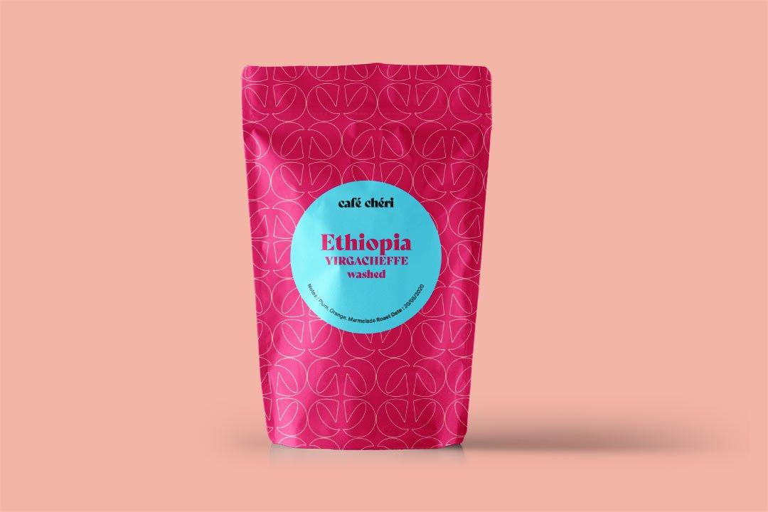 ArnoStudio Portfolio : Café Chéri - Coffee packaging