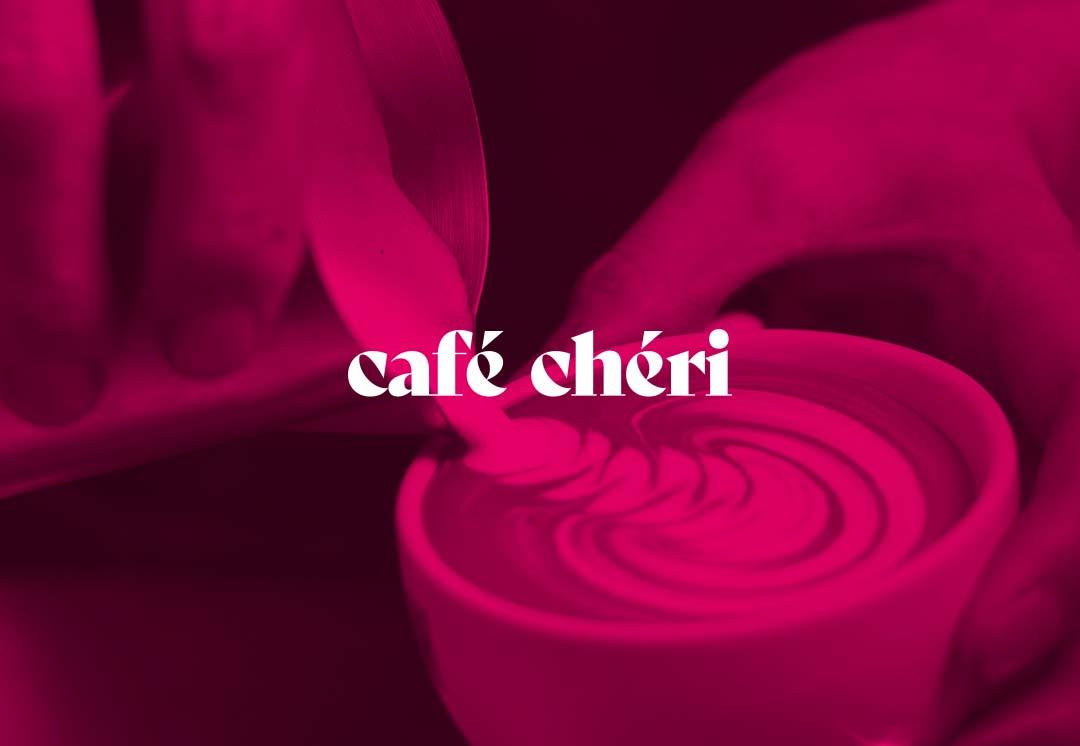 ArnoStudio Portfolio : Café Chéri