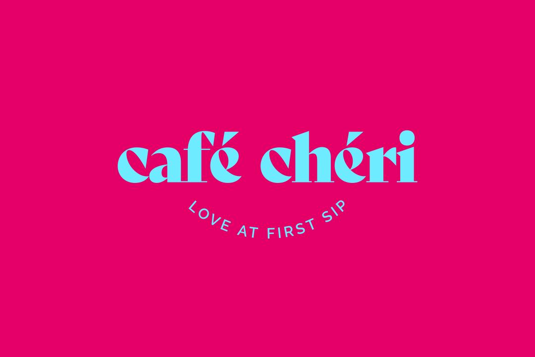 ArnoStudio Portfolio - Café Chéri - Coffee Shop branding