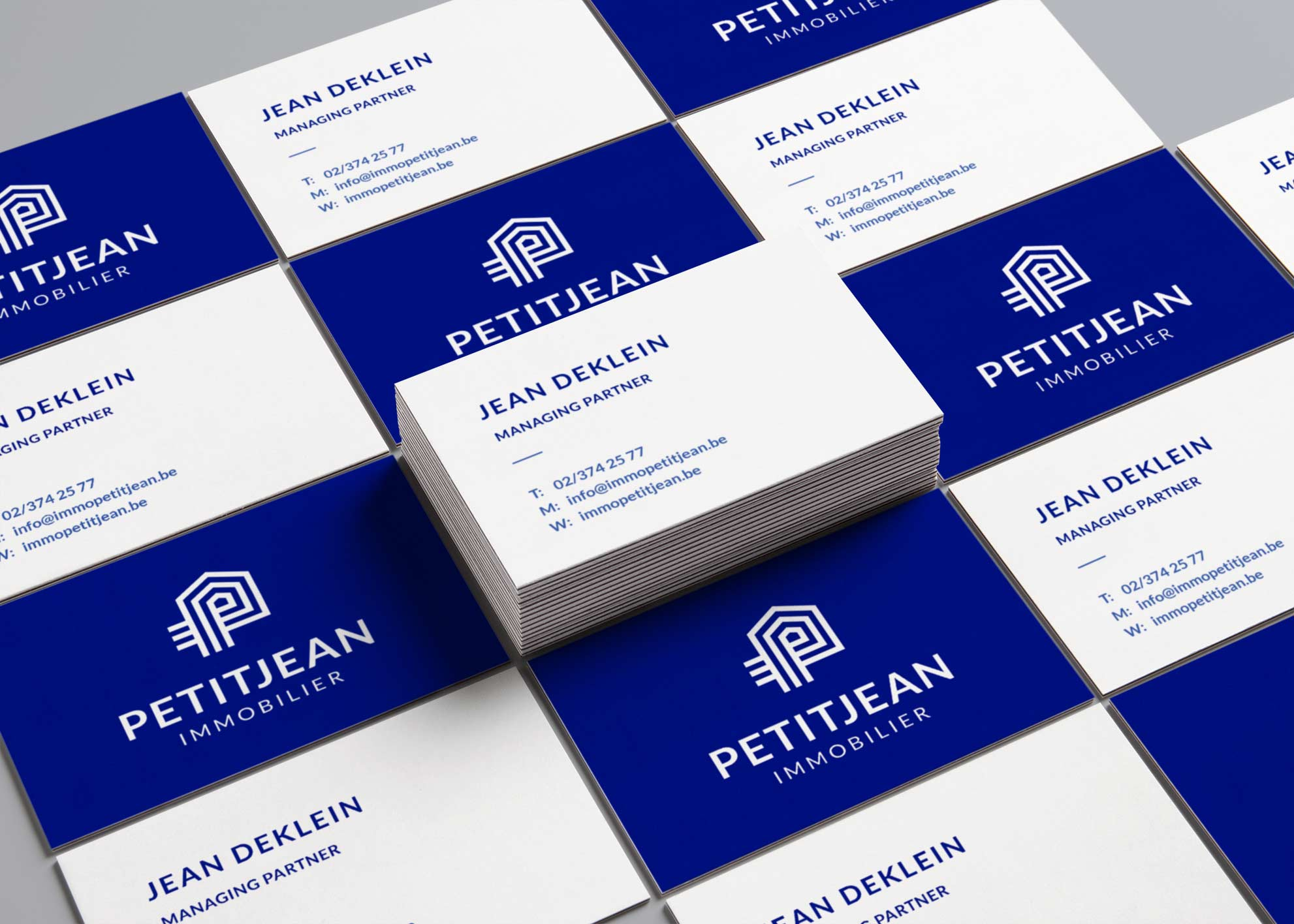 ArnoStudio Portfolio : Petitjean - Real Estate agency branding
