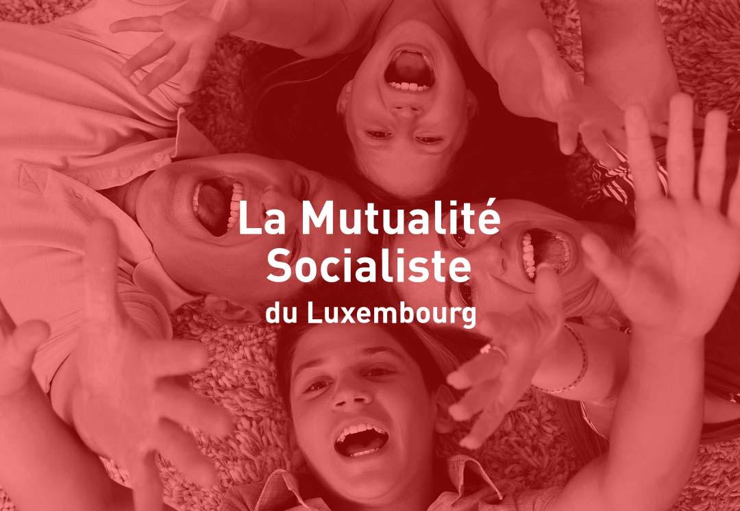 ArnoStudio Portfolio : La Mutualité socialiste du Luxembourg Website
